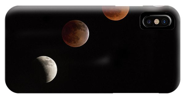 Full Moon iPhone Case - Moon At Play by Vadim Ianulionoc