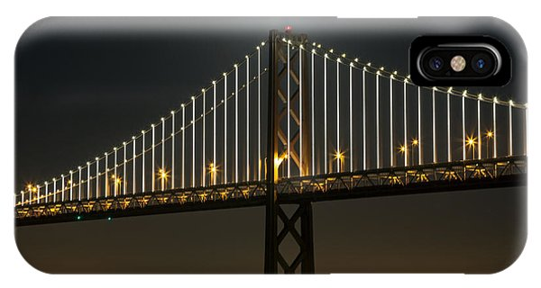 Moon Atop The Bridge IPhone Case