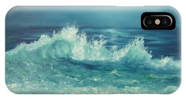 Moon Beach Painting IPhone Case