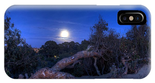 Moon Branch IPhone Case