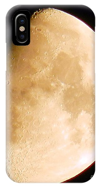 Moon Craters Galore IPhone Case