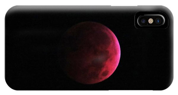Moon Eclipse Blood Red IPhone Case