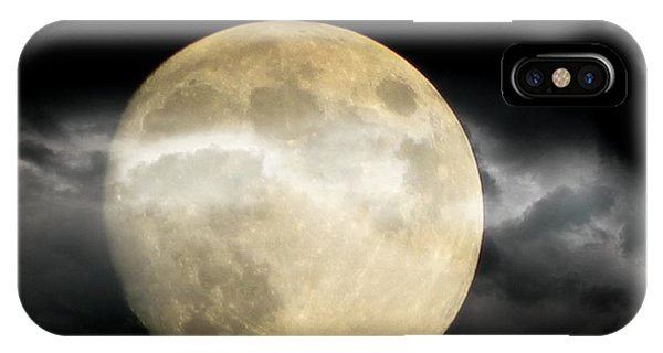 Moon In The Fog Phone Case by Michelle Frizzell-Thompson