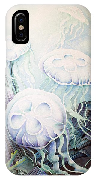 Moon Jelly IPhone Case