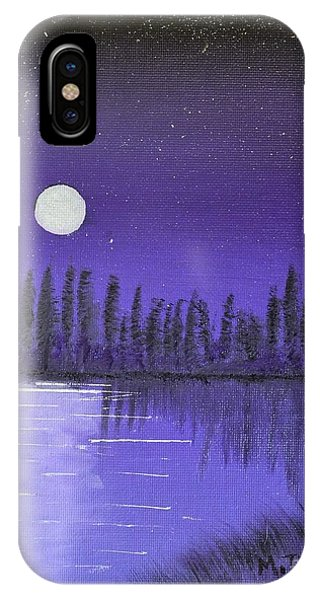 Moon Lit Bay IPhone Case