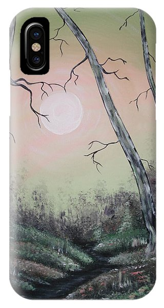 Moon Magic IPhone Case