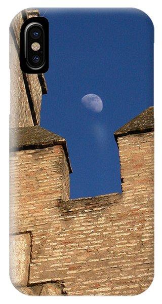 Moon Over Alcazar IPhone Case
