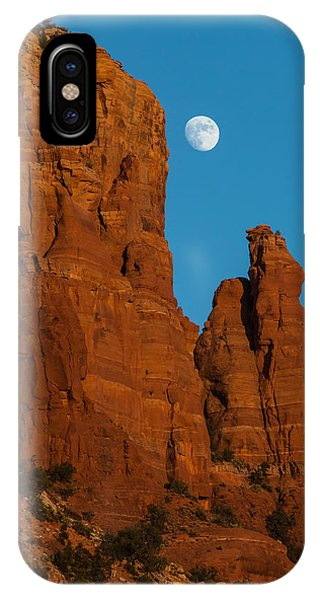Moon Over Chicken Point IPhone Case