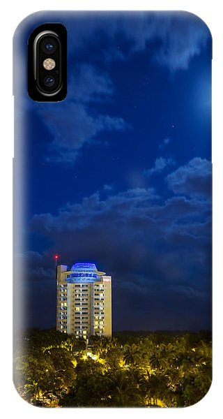 Moon Over Ft. Lauderdale IPhone Case