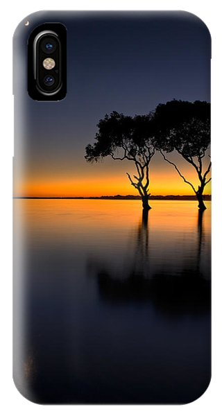Moon Over Mangrove Trees IPhone Case