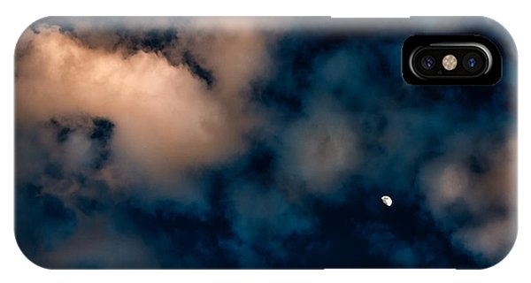 Moon Over Maui   IPhone Case