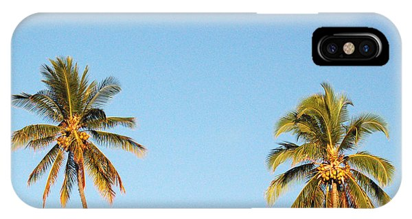 Moon Over Molokai IPhone Case