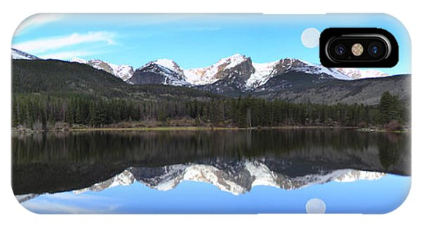 Moon Over Sprague Lake IPhone Case