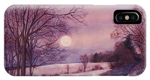 Moon Rising IPhone Case