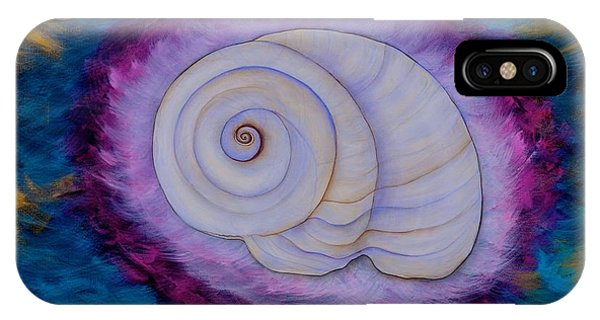 Moon Snail IPhone Case