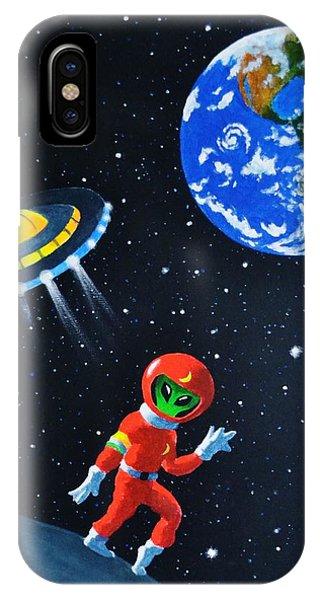 Moon Walk IPhone Case