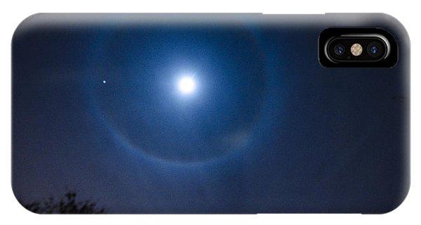 Moonbow Over Chicago 2 Phone Case by Deborah Smolinske