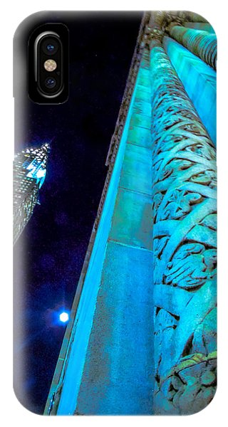 Moonlight At The Chrysler  IPhone Case
