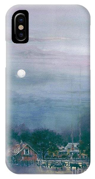 Moonlight Farm IPhone Case