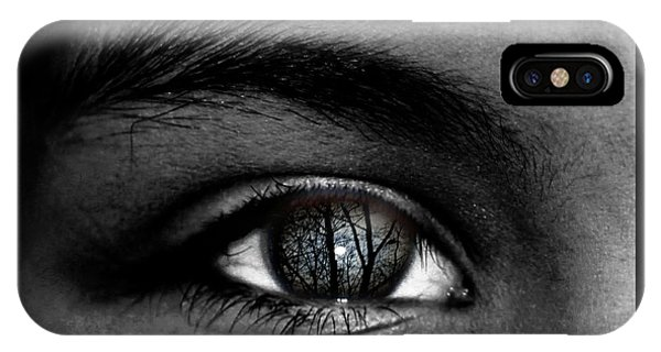 Moonlight In Your Eyes IPhone Case
