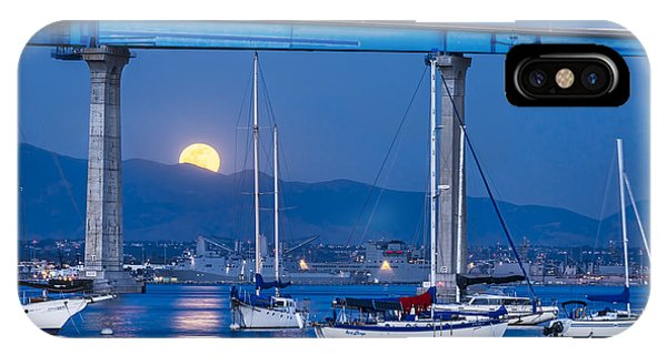 Moonlight Mooring IPhone Case