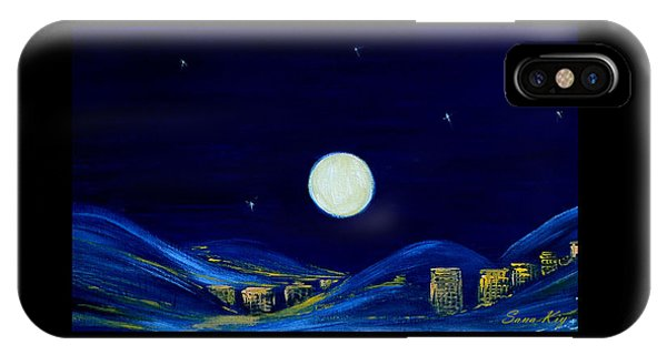 Moonlight. Winter Collection IPhone Case