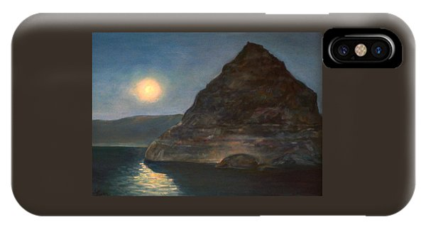 Moonlight On Pyramid Lake IPhone Case