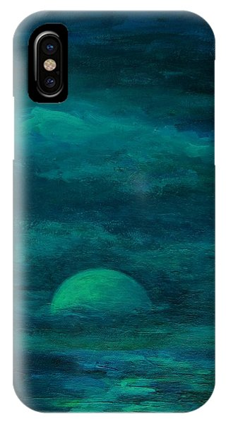 Moonlight On The Water IPhone Case