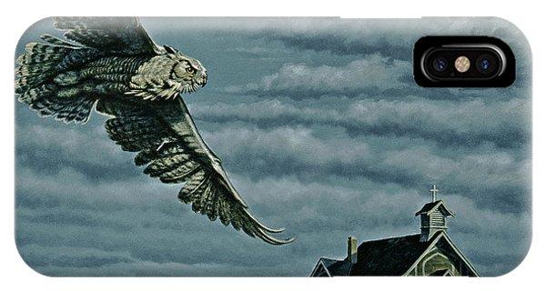 Horn iPhone Case - Moonlight Quest   by Paul Krapf