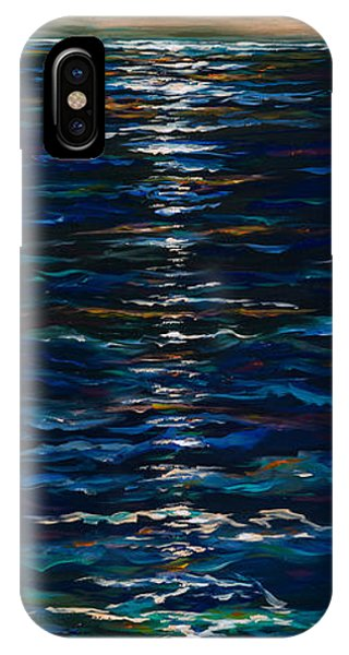 Moonlight Reflection IPhone Case