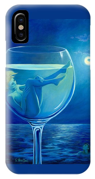 Moonlight Rendezvous IPhone Case