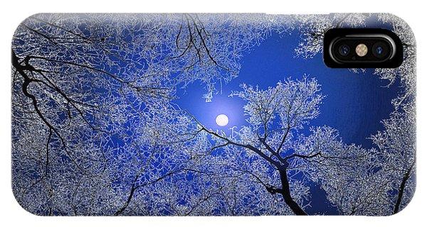 Moonlight Trees Phone Case by Igor Zenin