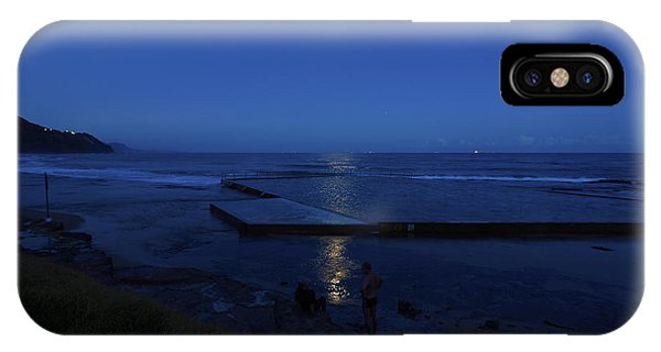 Moonlight Swim IPhone Case