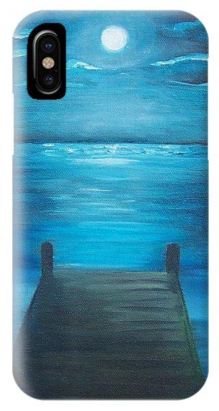Moonlit Dock IPhone Case