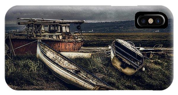 Moonlit Estuary IPhone Case