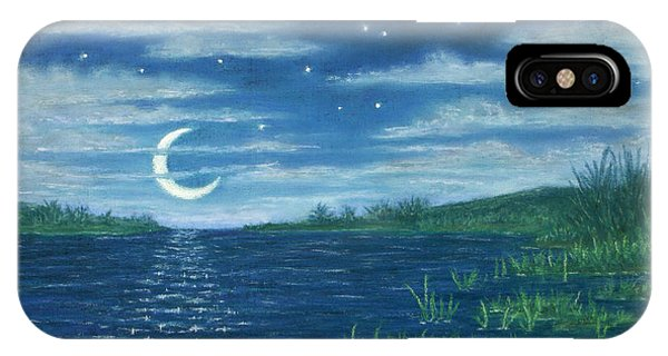 Moonlit Lagoon IPhone Case