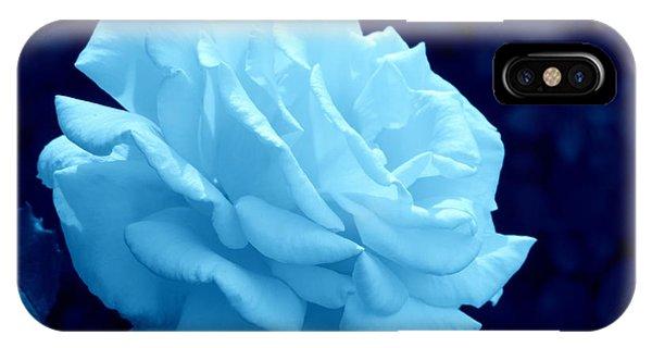 Moonlit Rose IPhone Case