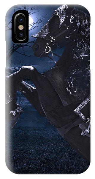 Moonlit Warrior IPhone Case