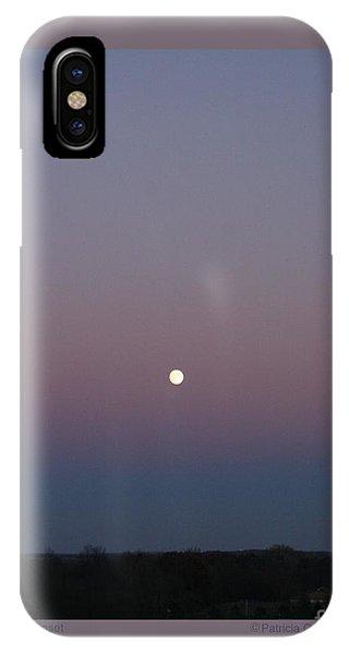 Moonrise At Sunset IPhone Case