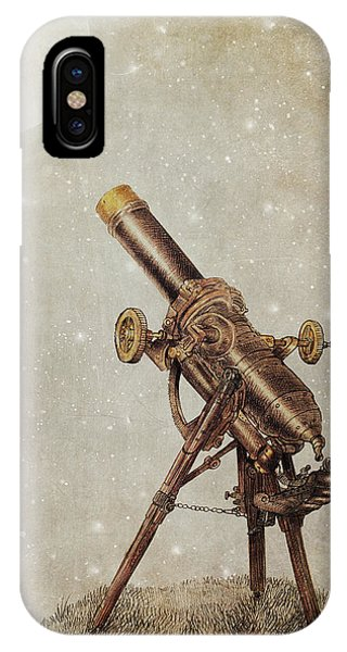 Illustration iPhone Case - Moonrise by Eric Fan