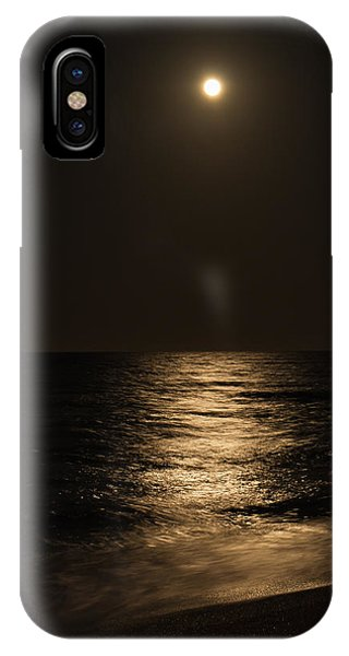 Moon Over Water IPhone Case