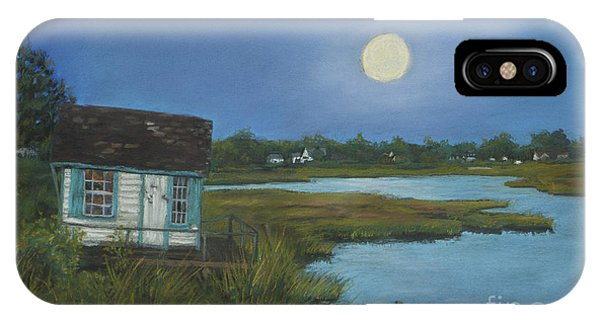 Moonrise Orient Point IPhone Case