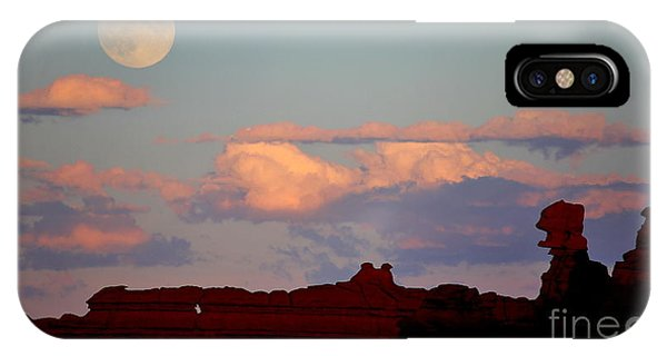 Moonrise Over Goblins IPhone Case