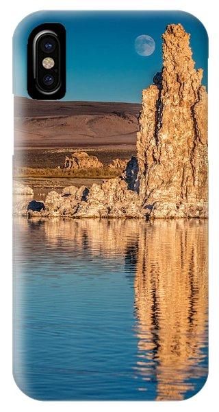 Moonrise Over Mono Lake IPhone Case