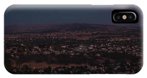 Moonrise Over Paso IPhone Case
