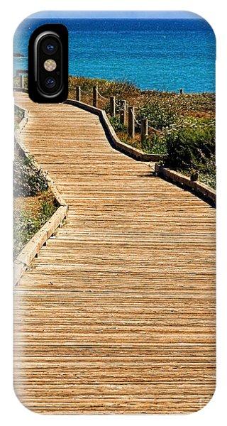 Moonstone Beach Park By Diana Sainz IPhone Case