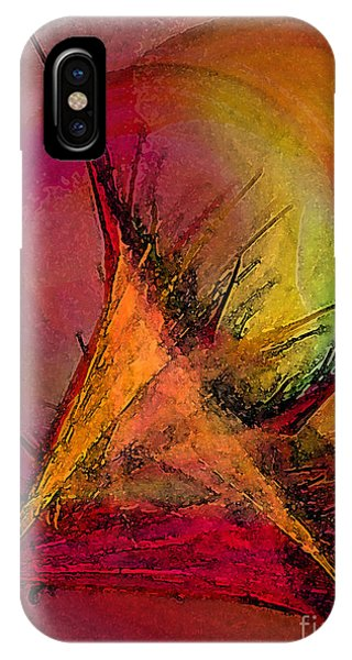 Moonstruck-abstract Art IPhone Case
