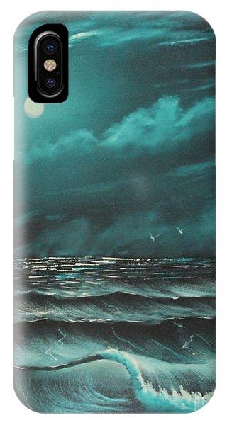 Moonstruck Ocean IPhone Case