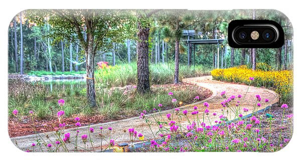 Moore Garden Stroll IPhone Case