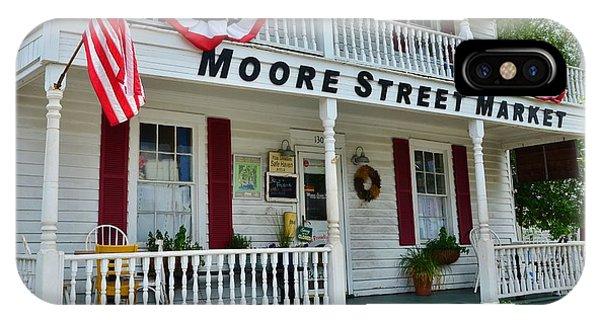 Moore Street Market IPhone Case